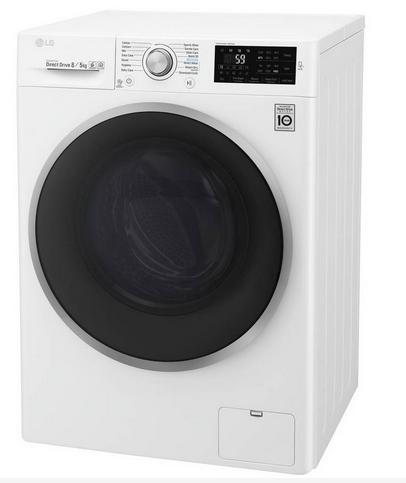 LG F4J6TM1W 8/5 kg Washer Dryer £399.20 / LG F4J8FH2S 9/6 kg Washer Dryer Graphite £499 w/code @ Hughes Direct ebay