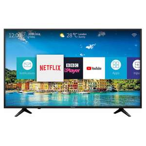 Hisense H43A6200UK 43'' 4K DLED Ultra HD HDR Smart TV £215.20 with code @ Hughes Direct ebay