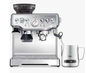 Sage Barista Express Bean-to-Cup Coffee Machine with Milk Jug, Stainless Steel, Stainless Steel - £303.99 at xsitems_ltd eBay