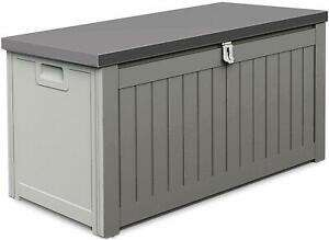 190L Outdoor Garden Plastic Storage Utility Chest Cushion Shed Box Waterproof Free Delivery £23.96 with code @ ebay / gardenstoredirect