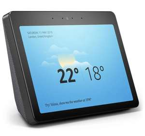 Echo Show (2nd Gen), Black + Philips Hue White Bulb B22 £159.99 Alexa Early Prime Day at Amazon
