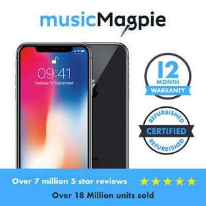 IPhone X 64GB In Good Condition Locked To Vodafone Smartphone £399.99 @ Music Magpie Ebay