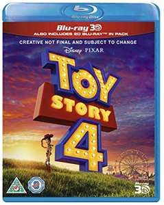 Toy Story 4 3d Blu-ray Preorder £18 with Prime (£22.49 otherwise) @ Amazon