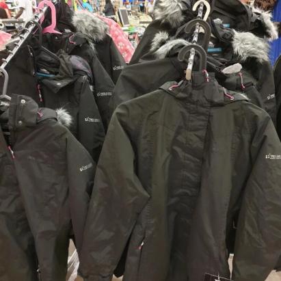 Various Tresspass Coats £3 - £5 at Clearance Bargains Walsall