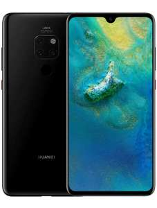 LIKE-NEW Huawei Mate 20 (6.53 inch) 128GB Unlocked Smartphone (Black) - £312 at techsave2006 eBay