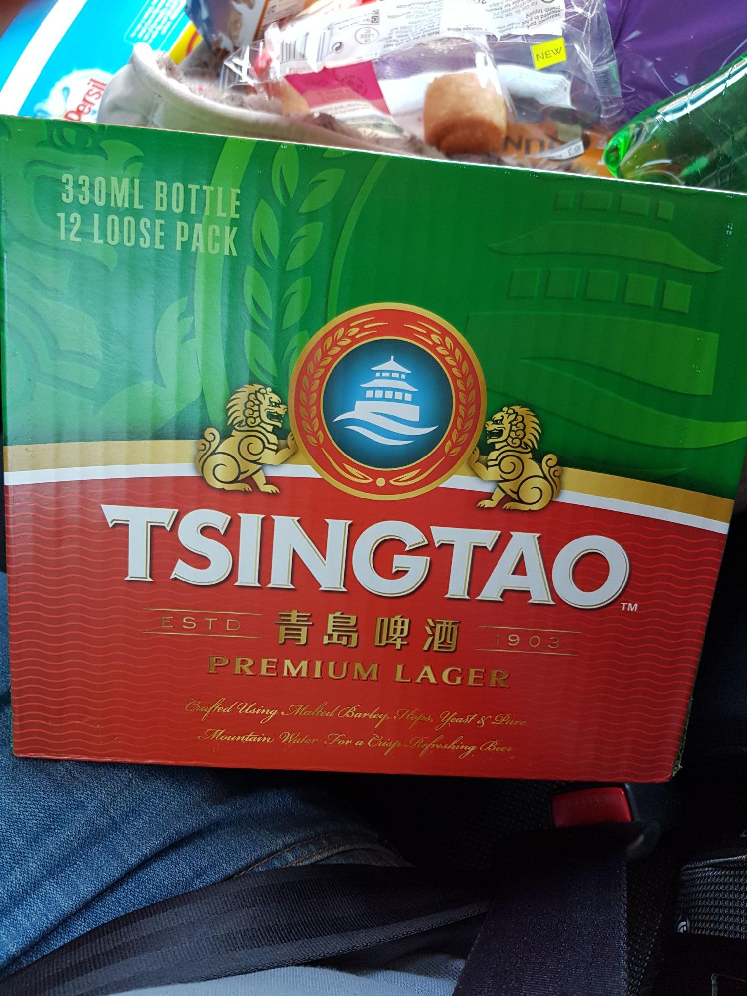 Tsingtao Premium Lager 12x 330ml bottles £7.99 @ B&M Bargains