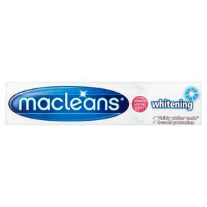 Macleans Whitening Toothpaste - 40p at Tesco instore