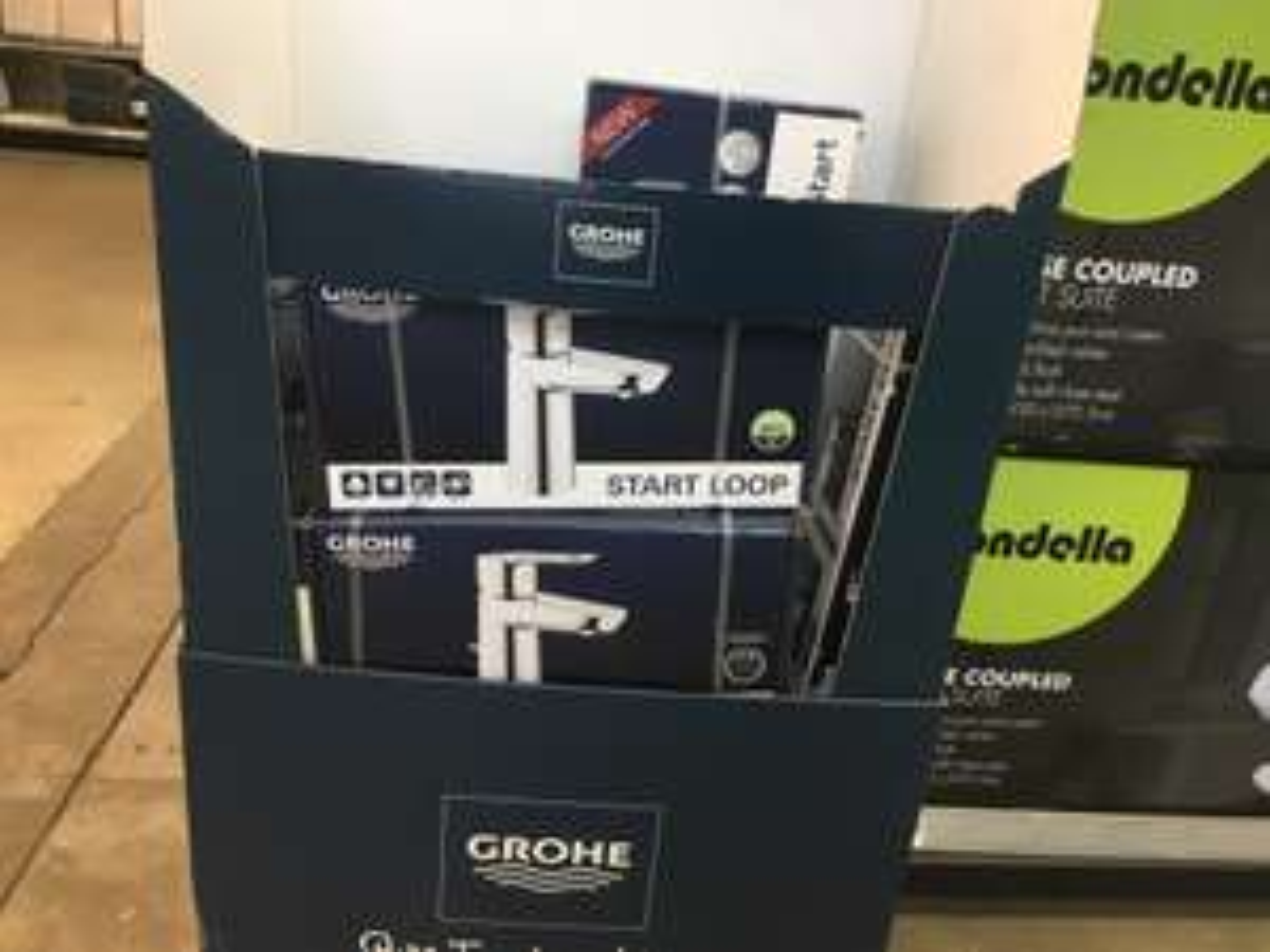 Grohe Start Edge/Start Loop Basin Taps - £40 @ Homebase Catford