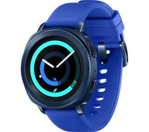 SAMSUNG Gear Sport - Blue, Silicone Strap - £139 at Currys