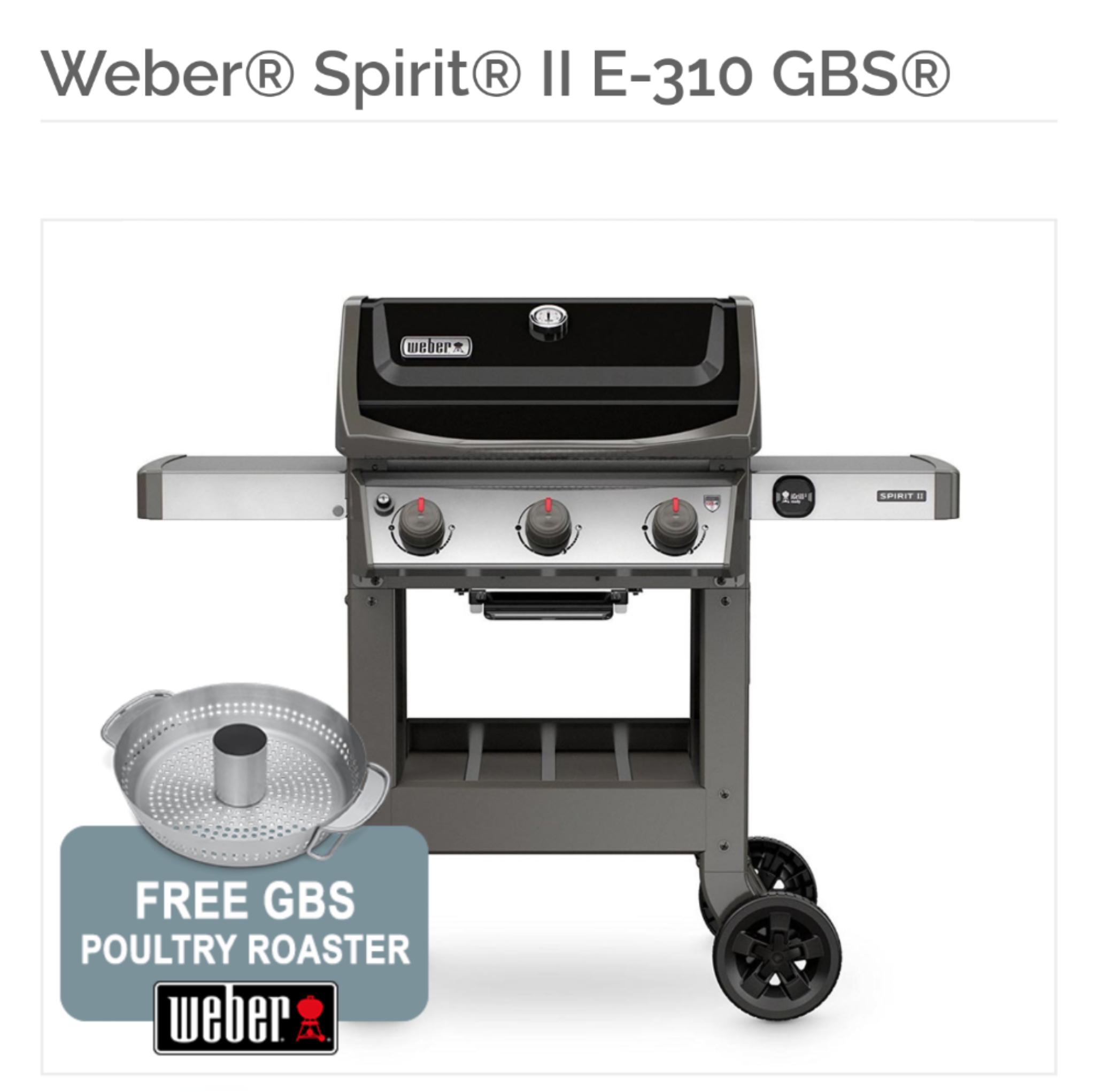 Weber Spirit II E-310 Today Only at Riverside Garden Centre - £503.50