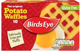 Birds Eye 10 The Original Potato Waffles 567g £1 @ Iceland