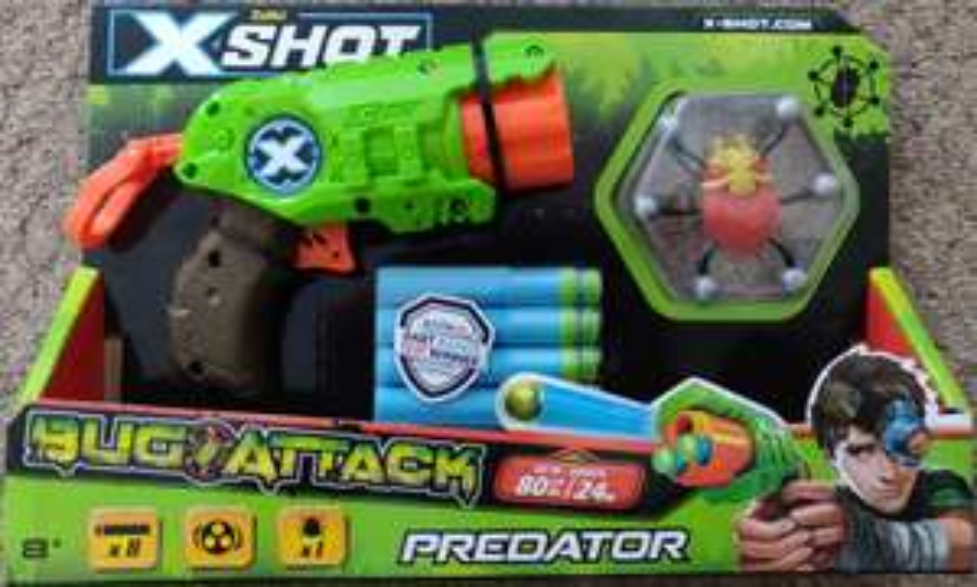 ZURU X-Shot Bug Attack Predator Scanning at £4 instore at ASDA Blyth