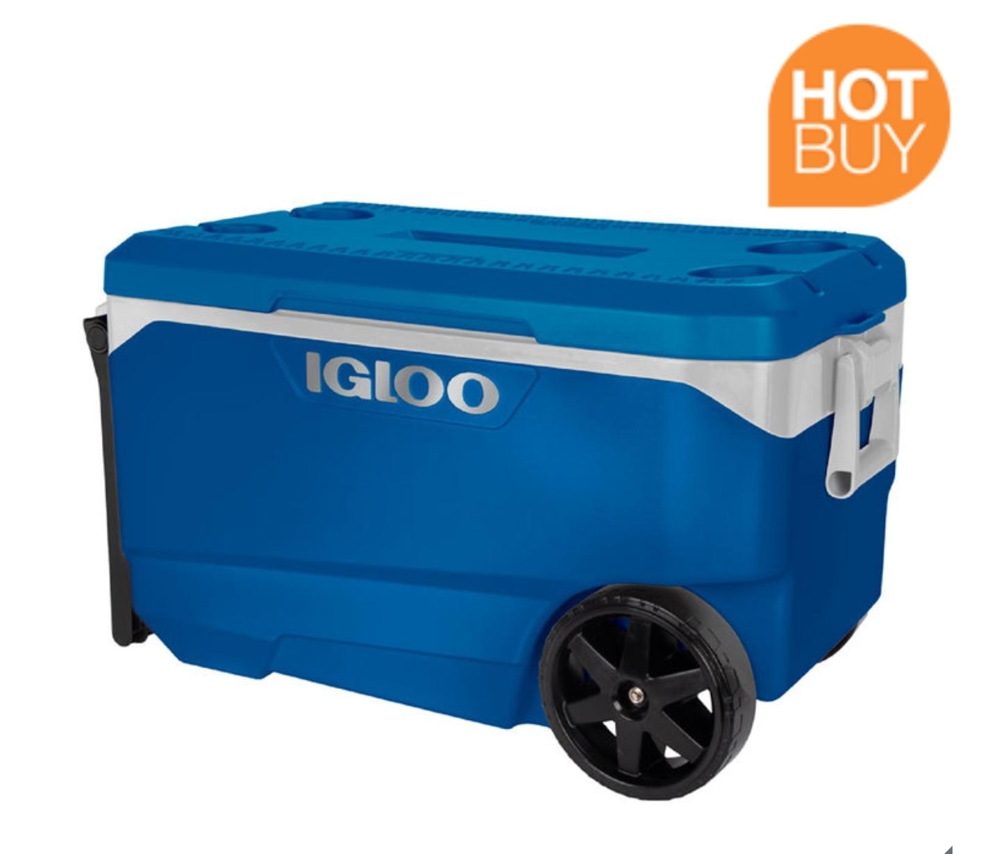 Igloo Flip and Tow 85 Litre (90 US Quart) Cool Box £59.89 @ Costco