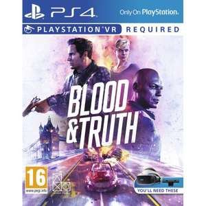 Blood and Truth - VR PS4 - £22.95 at The Game Collection