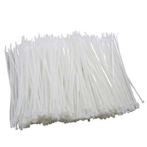 1000 Cable Ties 4.8mm x 300mm - £4.49 Instore @ Homebase (Romford)