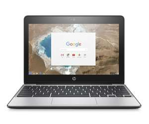"""HP Chromebook 11 G5 11.6"""" Touchscreen Laptop Intel Dual Core, 4GB RAM, 16GB eMMC £143.99 with code @ Laptop Outlet eBay"""