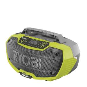 Ryobi ONE+ 18V 2 Speaker Radio R18RH-0 (Tool only) - £38.15 @ Homebase (Free C&C)