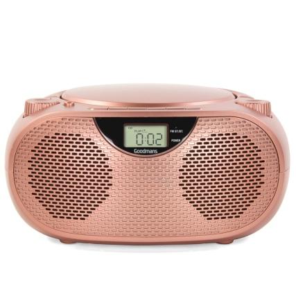 Goodmans Bluetooth CD Boombox - £24.99 @ B&M