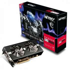 Sapphire AMD Radeon RX 590 NITRO+ 8GB GDDR5 Graphics Card - £175.85 at Ebuyer/ebay with code