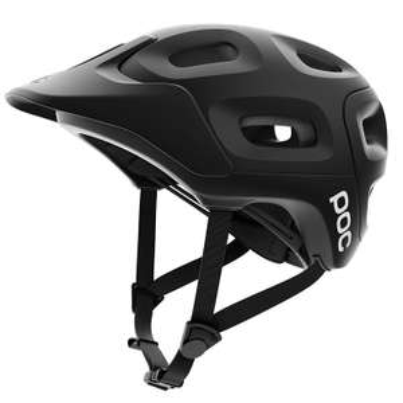 Poc trabec white helmet in medium at Amazon for £20.89