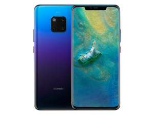 Mate 20 Pro £35pm 20GB Data (poss £27.50pm = £660 after cashback) at Mobile Phones Direct