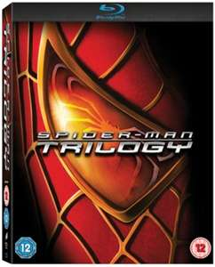 Spider-Man Trilogy Blu-ray £6.99 delivered with code @ Zoom