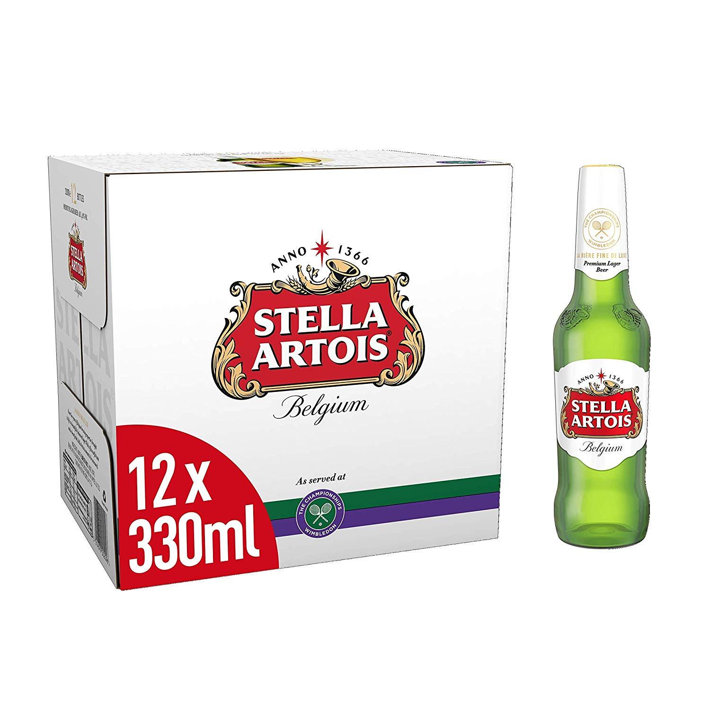 Stella Artois Beer, 12 x 330 ml £5.50 @ Amazon Pantry