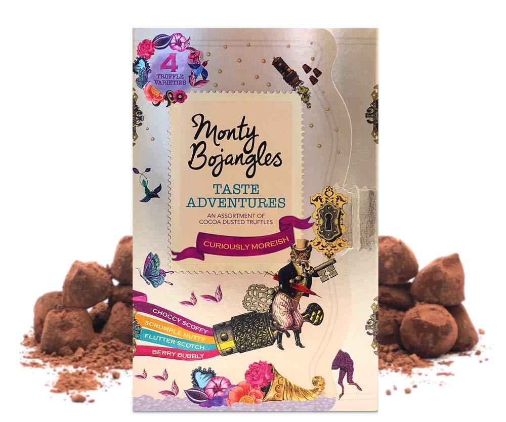 Monty Bojangles Taste Adventures Cocoa Dusted Truffles Assortment, 2 x 200g Treasure Gift Boxes Amazon add on £4
