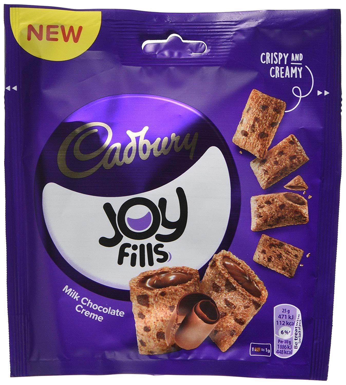 Joyfills Cadbury Choco Crème, 90 g, Pack of 8 @ Amazon Add On £3.76