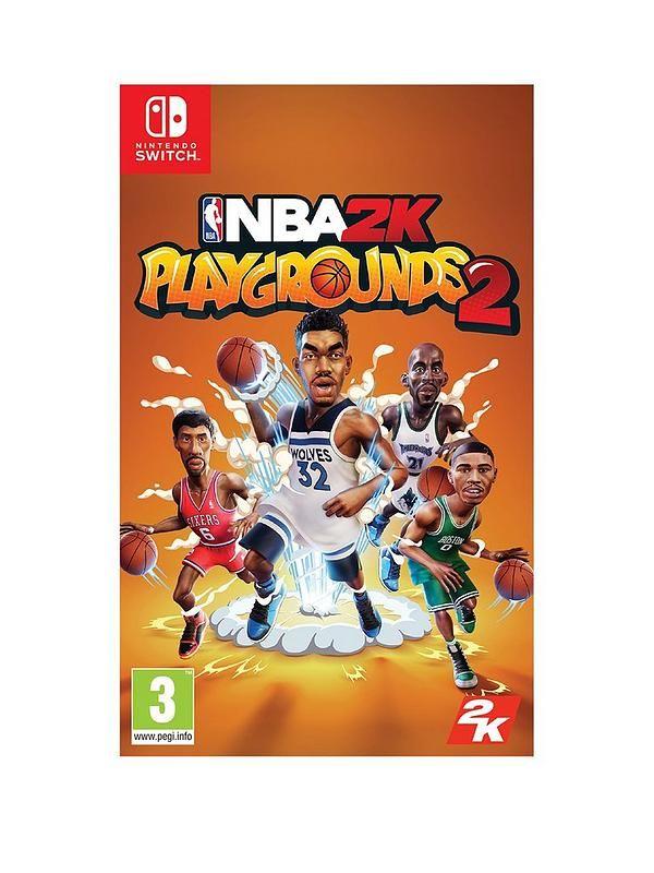 NBA 2K Playgrounds 2 - Nintendo Switch - Base.com £12.69