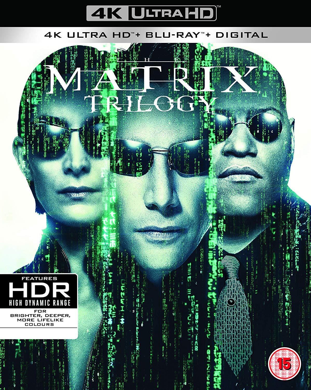 The Matrix Trilogy 4K UHD/Blu-Ray £27.99 Amazon Prime Day Deal