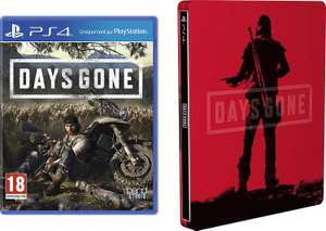 Days Gone with Limited Edition SteelBook PS4 £39.99 from Amazon for Prime members