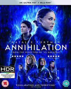 Annihilation 4K UHD Blu-Ray £6.99 Amazon Prime Day Deal