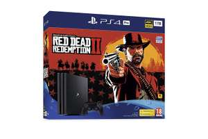 PS4 Pro 1TB & Red Dead 2 - £299.99 - Prime Day Deal at Amazon