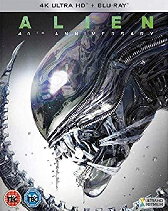 Alien 40th Anniversary 4K UHD & Blu-Ray £11.19 Amazon Prime Day Deal