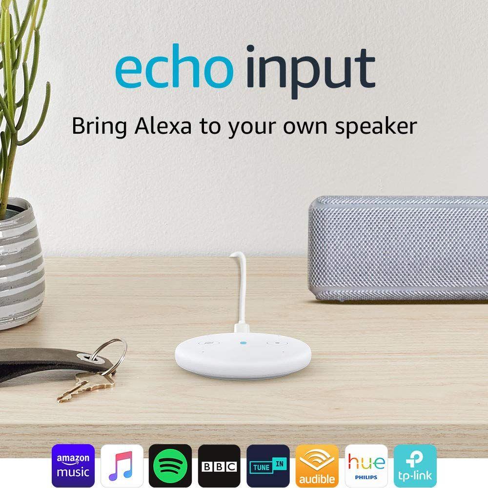 Amazon Echo Input Only £14.99 + £4 Amazon Pantry Credit for Prime members @ Amazon
