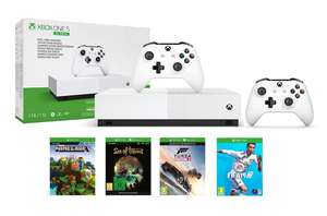 Xbox One S 1TB All Digital Console + Extra Controller + FIFA 19 (Download code) + 3 Games for £169.99 @ Amazon