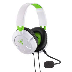 Turtle Beach Recon 50X White Stereo Gaming Headset - Xbox One, Xbox One S, PS4 Pro and PS4 - £14.99 (Prime) @ Amazon