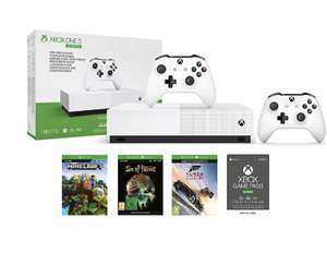 Xbox One S 1TB All Digital Console + Extra Controller + Game Pass Ultimate 3 Months £169.99 from Amazon for Prime members