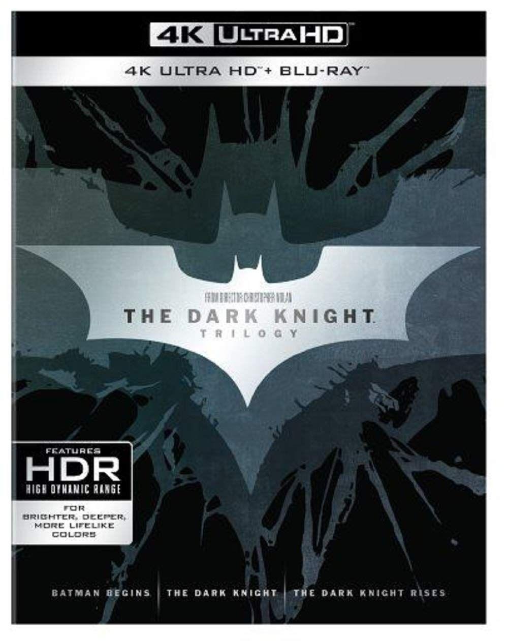 Dark Knight Trilogy 4K - Prime Day £26.59 @ Amazon