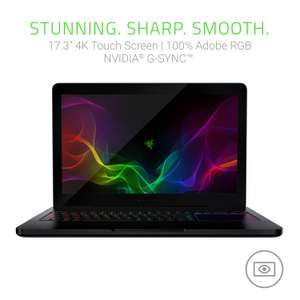 "Razer Blade Pro 17"" 4K-Touch (Black) i7-7820HK 3.9GHz, 32GB RAM, 1TB SSD, GTX 1080 [Acceptable] Gaming Laptop £1,497.60 Amazon"