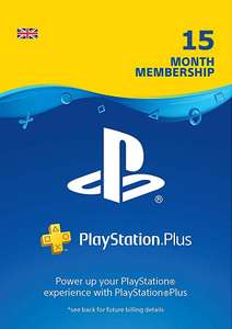Prime Day Offer: PlayStation Plus 15 Month Membership £48.99 for Prime Accounts @ Amazon