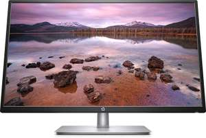 HP 32s Display Full HD (1920 x 1080) 31.5 Inch Monitor (5 ms, 1 VGA, 1 HDMI) - Silver/Black £139.99 @ Amazon