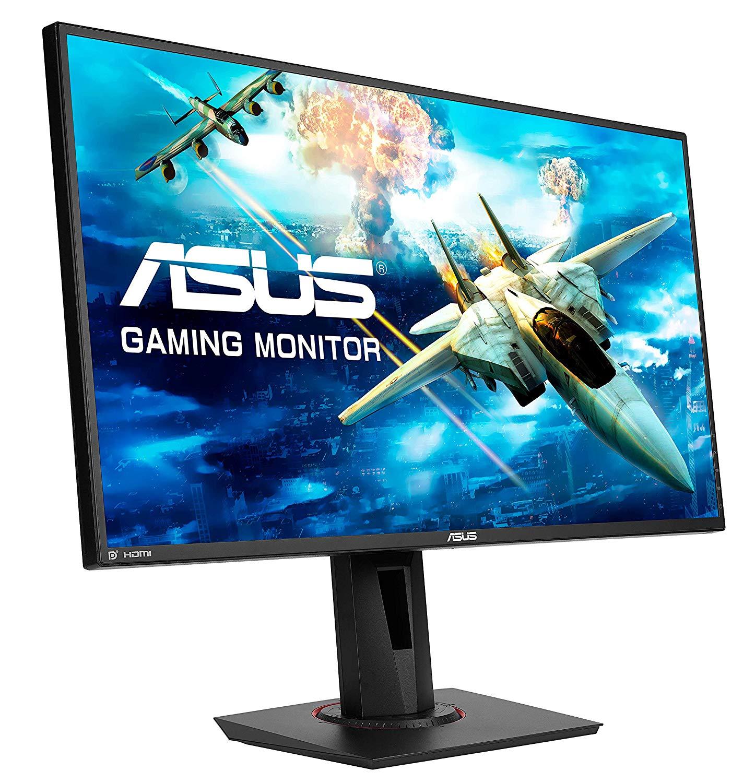 "ASUS VG278QR, 27"" FHD Esports Gaming Monitor, 0.5ms, Up to 165 Hz, DP, HDMI, DVI, FreeSync, Low Blue Light, Flicker Free - £199.99 @ Amazon"