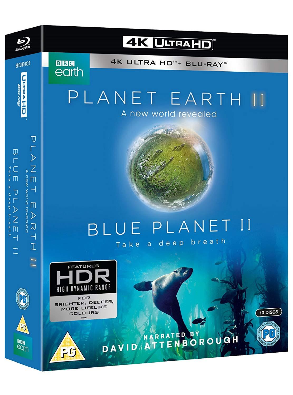 Planet Earth II & Blue Planet II 4K UHD+Blu-ray £24.50 @ Amazon - Prime Day Deal