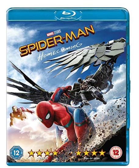 Spider-Man Homecoming Blu Ray £4.90 @ Amazon