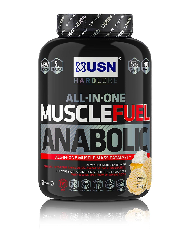 Amazon Prime DEAL: USN Anabolic 2kg  Muscle Gain Shake Powder 2 kg  £17.99