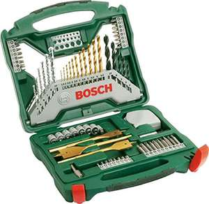 Bosch 2607019329 Titanium Drill and Screwdriver Set, 70 Pieces £14.99 (Prime) @ Amazon