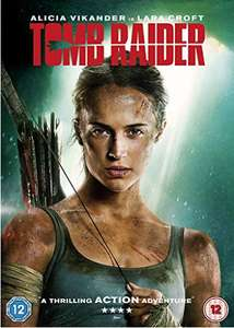 Tomb Raider (2018) DVD £3 +  £4 Amazon Pantry reward @ Amazon Prime Members Only