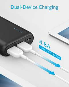 Anker PowerCore 20100 - Ultra High Capacity Power Bank with one of the Most Powerful 4.8A Output, PowerIQ Technology  for £23.09 @ Amazon